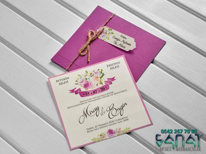 lila renkli davetiye urfa davetiye düğün davetiyesi davetiye modelleri ucuz davetiye
